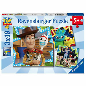 Ravensburger Puzzle: Disney Pixar Toy Story 4, 3 x 49 Piece Puzzles (08067)