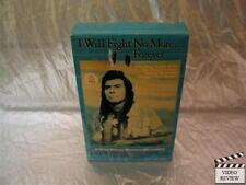 I Will Fight No More Forever (VHS) Large Case James Whitmore Sam Elliott