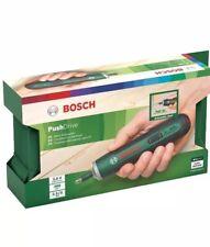 Bosch Akku Schrauber Push Drive (1.5Ah, 3.6 Volt, Leerlaufdrehzahl 360...