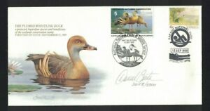 MAFD197) Australia 1989 Wetlands Conservation - Plumed Whistling Duck Cover