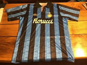 Fc Inter 1992-1993 Original Shirt Vintage Rare