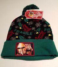 08cb0d294d691 Adult Unisex A Christmas Story Green Black Hat Red Pull On One Size