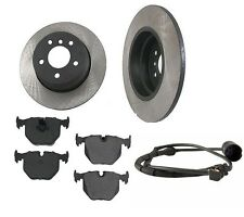 BMW E53 X5 00-06 Aftermarket Rear Brake Kit w/ Rotors Ceramic Pads Sensor