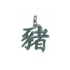 Pendentif Horoscope Chinois Cochon (Fabrication Française)