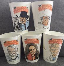 McDonalds Dukes Of Hazzard Regional cups 1982 Bo Daisy Hogg Jesse Rosco Lot