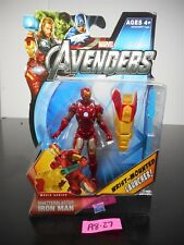 NEW! MARVEL AVENGERS SHATTERBLASTER IRON MAN ACTION FIGURE #18 2012 NIP!! A8-27