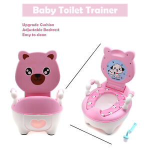 Baby Potty Training Seat Toilet Girl Chair Infant Toddler Kids Bathroom Trainer