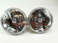 "5-3/4"" Chevy Ford Gm HeadLight H4 Turn Signal Hi-Lo Beam Lamp Street Rod Rat Sbc"