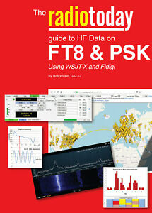 Radio Today guide to HF data on FT8 & PSK - Book for Ham / Amateur Radio users
