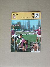 FICHE CHAMPION RUGBY CRAUSTE FC LOURDES RACING CLUB FRANCE  1977