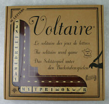 Voltaire Solitaire Word Game 48 Letters Complete Made In France Guy Jeandel