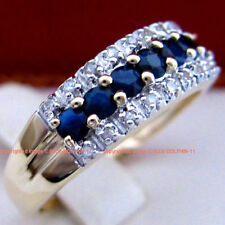 Sapphire Blue Fine Rings