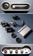 Motorola bluetooth headset ht820 + dc800 audio station + 2 original chargers