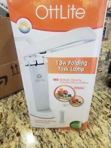 OttLite 13w Folding Task Lamp Model # 783WG3