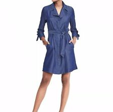 NWT Banana Republic Trench Dress, Chambray SIZE 4T 4 T   #483049