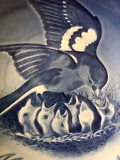 Bing & Grondahl Copenhagen Mother'S Day Plate Mor'S Dag 1970 Birds