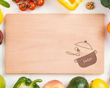 Personalised Wooden Chopping Cutting Board  - Design 76