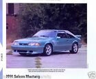 1991 Ford Mustang Saleen 5.0 Liter H.O. Info/Specs/photo/prices 11x8