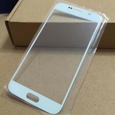 Front Screen Outer Glass Lens Replacement Part For Samsung Galaxy S6 G9200 White