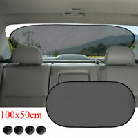 Auto Sun Shade Cover Rear Car Window Sunshade Visor Mesh Shield UV Block Protect