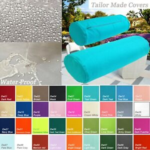 TAILOR MADE*Bolster Cover*Waterproof Outdoor Yoga Neck Roll Long Tube Case Dw08