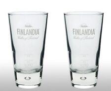 Finlandia Vodka Tall Glass X 2