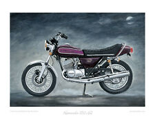 Kawasaki 750 H2B (1974) Candy Purple -  Limited Edition Collectors Print