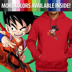 Pullover Sweatshirt Hoodie Sweater Gift Print Anime Son Goku Anime Cartoon Show
