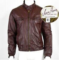 Vintage 90/'s Jean Pierre Men/'s Leather Jacket