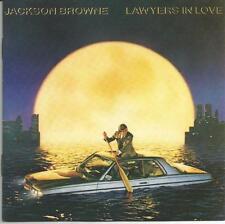 Jackson Browne-Lawyers in love-première édition Asylum Target-CD 1983
