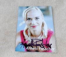 Anett Fleischer *Böse Mädchen*, original signierte Autogrammkarte 10x15 cm