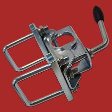 48mm Klemmhalter + 2x 60mm Quadratdeichselbefestigung für PKW-Anhänger-Stützrad