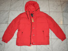 AMERICAN EAGLE OUTFITTERS MEN'S XL RED PUFFER WINTER DOWN JACKET NEW NWT $150