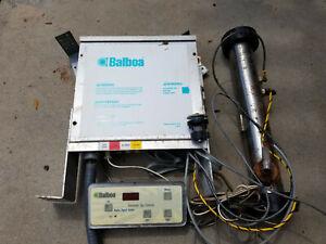 Balboa Spa Controller Model DUP120 with control panel, heater, temp sensor