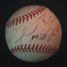 Rafael Furcal 'ROY 2000' Autographed Official MLB Baseball With PSA LOA