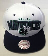 NBA Dallas Mavericks Mitchell and Ness 2 Tone Snapback Cap Hat M&N NE09Z NEW!