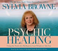 Psychic Healing by Sylvia Browne 2 CD Abridged Audiobook  NEW
