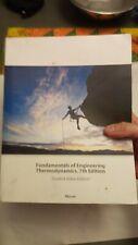 Fundamentals of Engineering Thermodynamics by Howard N. Shapiro, Michael J....