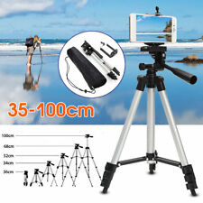 Professional Camera Tripod Stand Holder For Cell Phone iPhone X 8 Samsung S9 S8