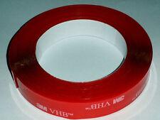 "3M VHB 4905 8'X1"" Double Sided Clear Acrylic Foam Automotive Attachment Tape"