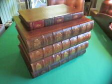Antique French Leather Book Box - Large and Exceptional - Pristine Condition