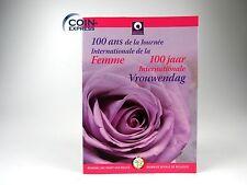 *** 2 EURO Gedenkmünze BELGIEN 2011 Internationaler Frauentag Coincard Folder **