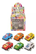36 Mini Pull Back Cars Party Loot Bag Fillers Pinata Birthday Boys Girls toys UK