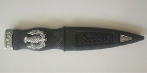 Sgian Dubh - SAFETY BLADELESS in Antique or Chrome Design with Presentation Box