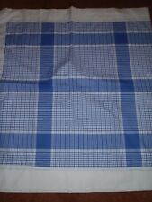 Set of 2 Liz Claiborne Liz At Home Unlined Panels Blue Plaid In Full Bloom 42x80