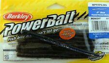 8 X Berkley Power Bait 10 Cm Poured Finesse Worm MN Rubber Worm VERMONI
