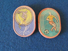Russian Badges - Lot of 2 - Moscow Olympics 1980 - 3D Badges