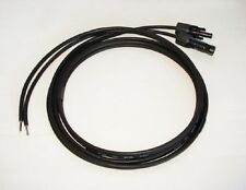 2 x 6 Metre 4mm2 Solar Cable Extension Lead with MC4 Connectors