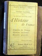 La nouvelle deuxième année d'Histoire de France - Ernest Lavisse - 1898