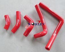 Silicone Radiator Hose For Honda CR250 CR 250 2003-2008 2004 2005 2006 07 RED